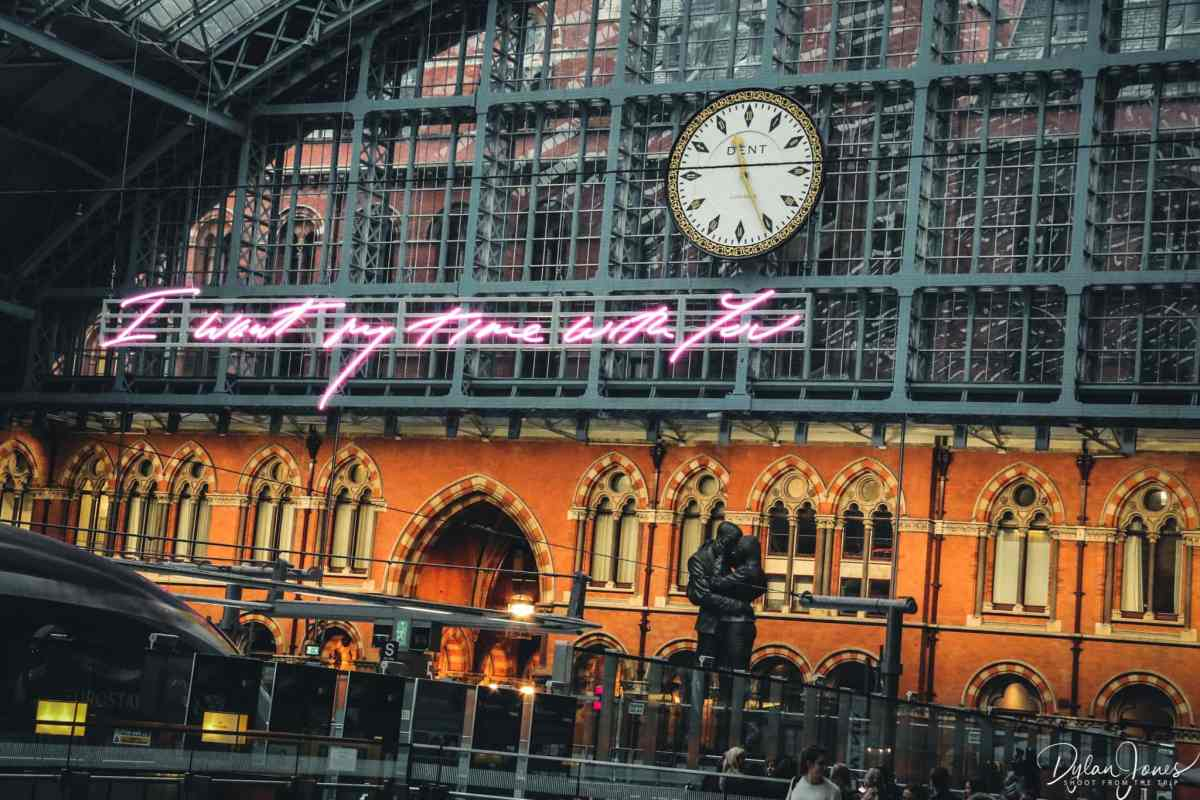 Eurostar Grand Terrace St. Pancras Station