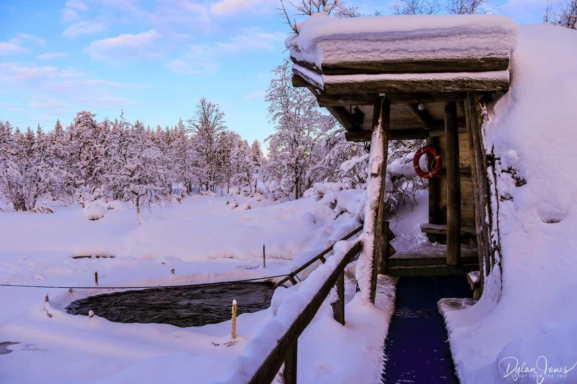 Smoke Sauna and Ice Pool