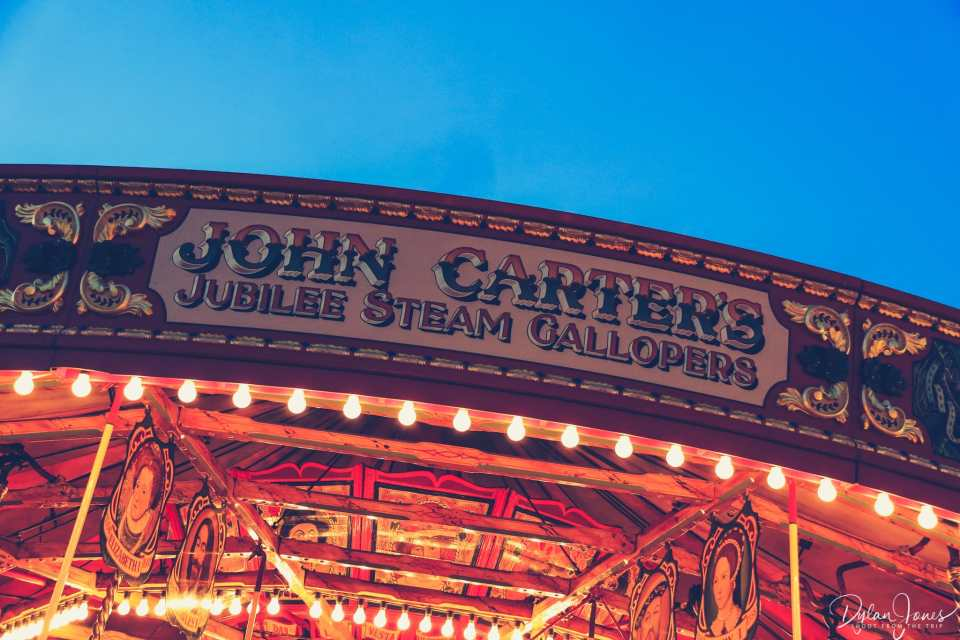 Jubilee Steam Gallopers - Carters Steam Fair's first ride
