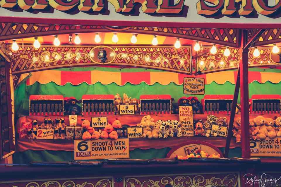 Shooting Range stall at Carters Steam Fair