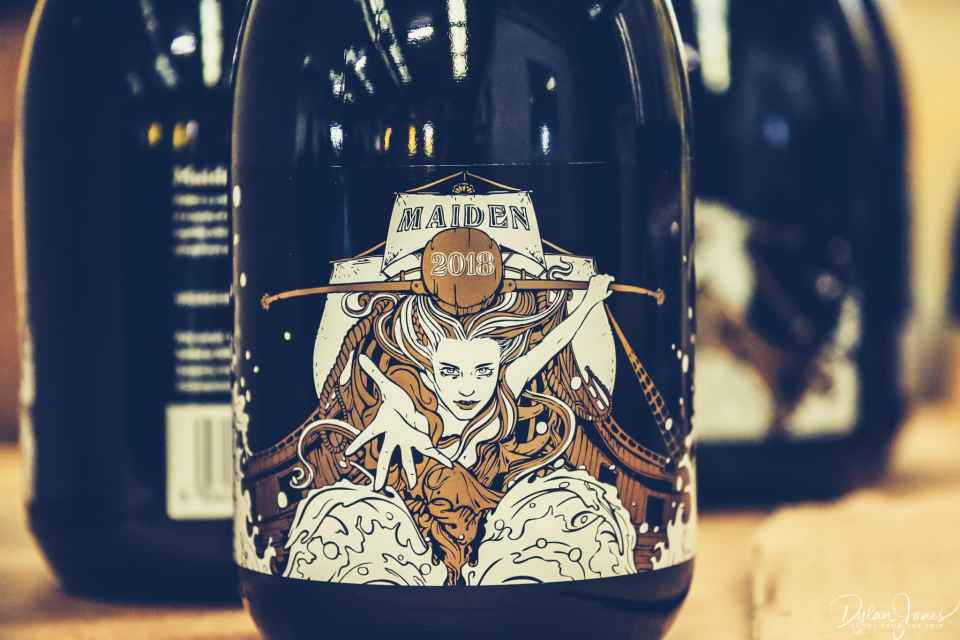 The Maiden brew, 2018 edition, at Siren Craft Brewery