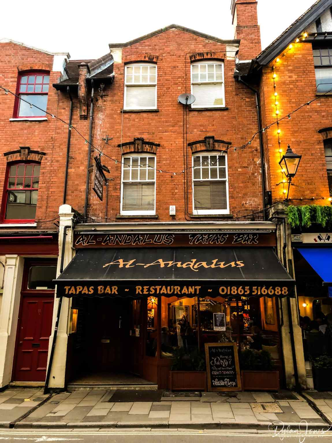 Al-Andalus Tapas Bar in Jericho, Oxford