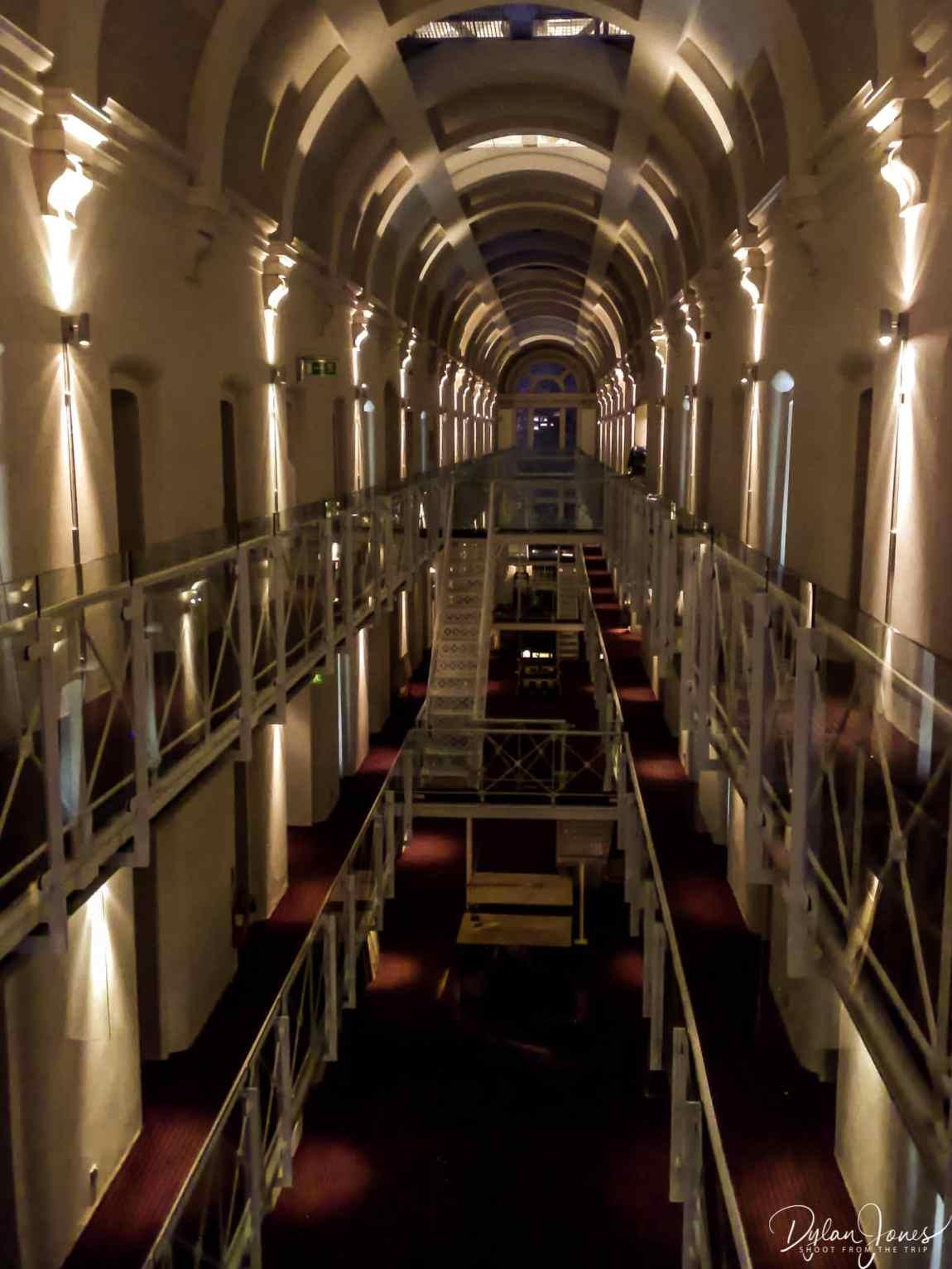 The cell block of Malmaison Oxford