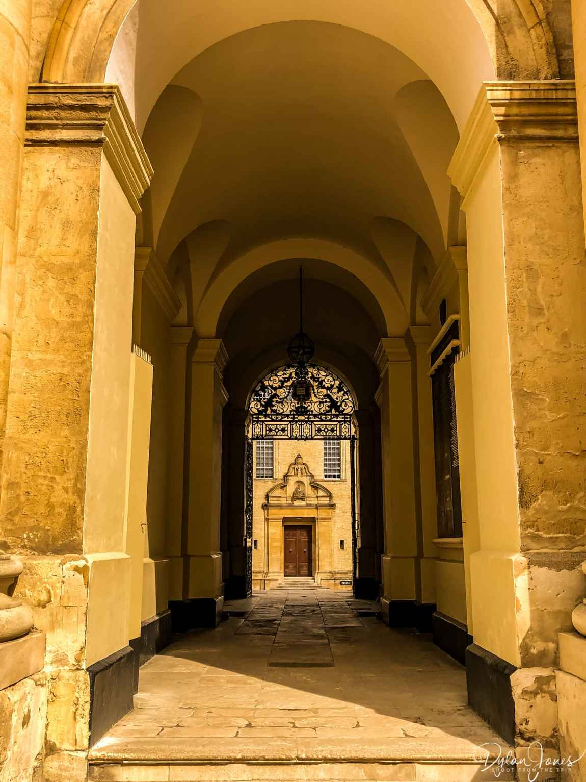 Archways at the Bodleian Library