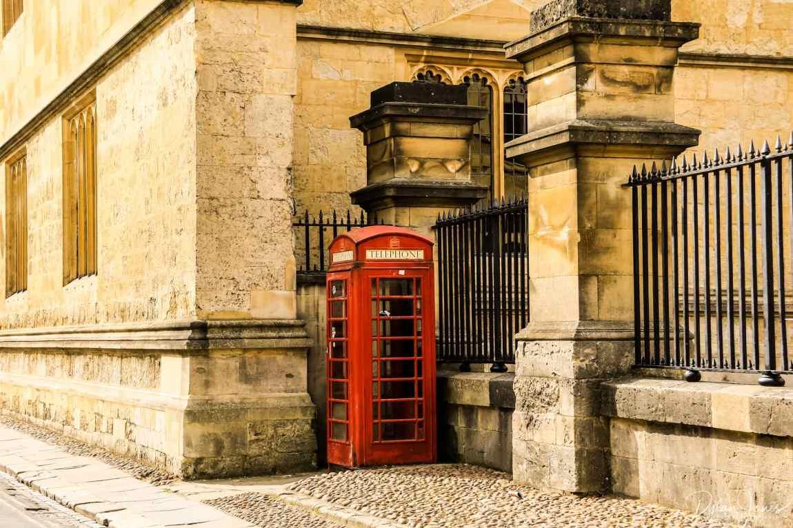 Catte Street telephone box
