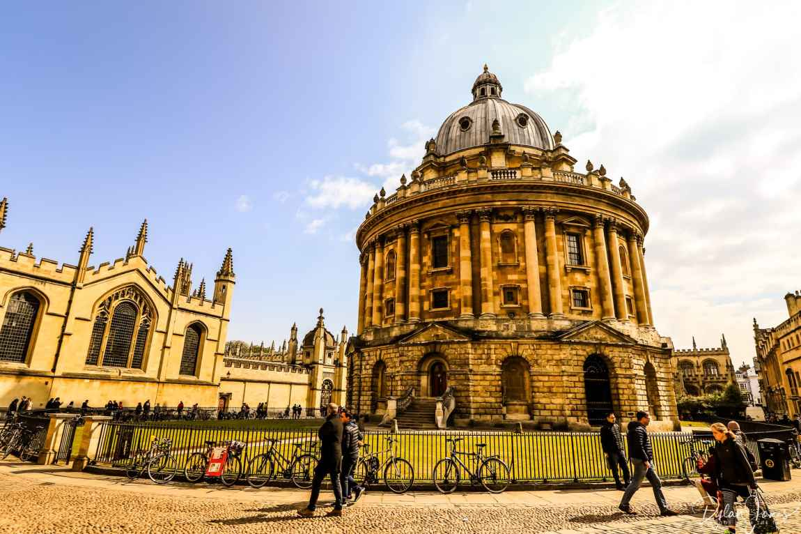 The stunning Radcliffe Camera building