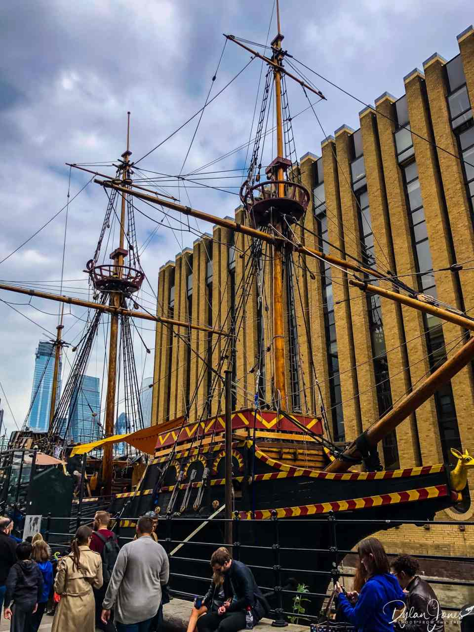 The Golden Hinde visitor attraction in the London Bridge area
