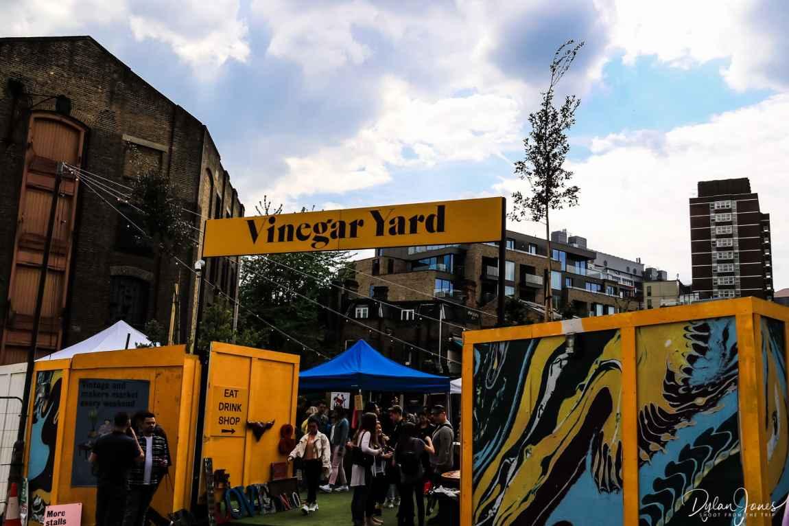 Vinegar Yard - a new multi use space in the London Bridge area