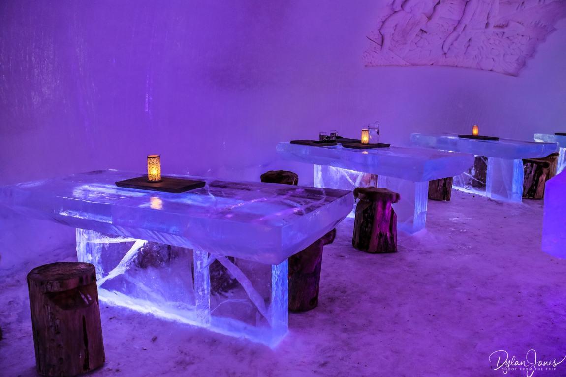 Ice Restaurant at Northern Lights Village