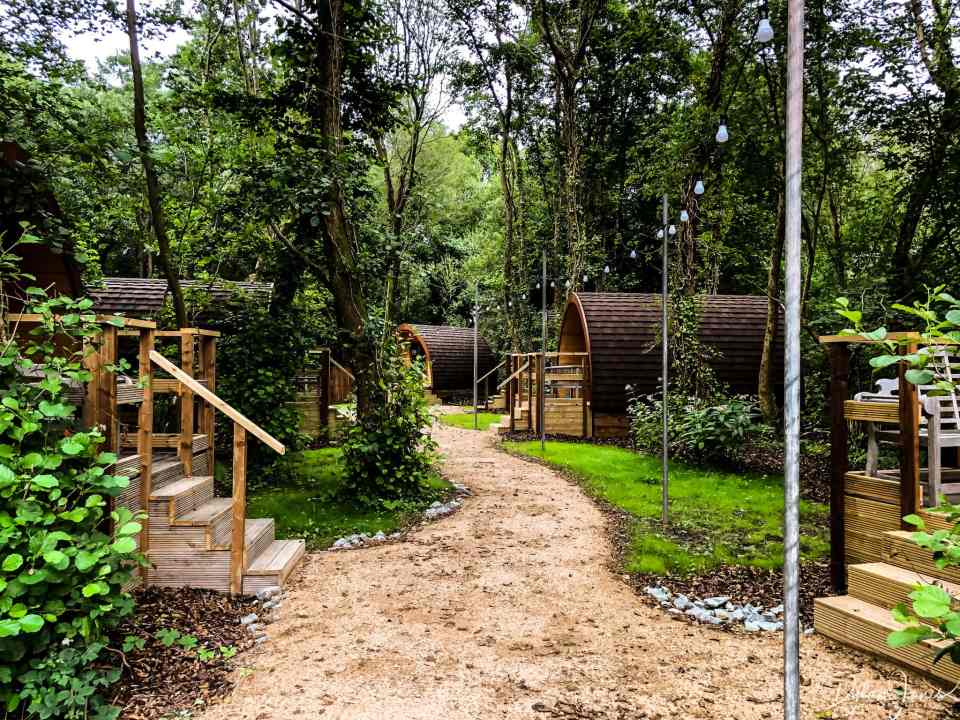 Woodland Glamping Pods at Adventure Parc Snowdonia