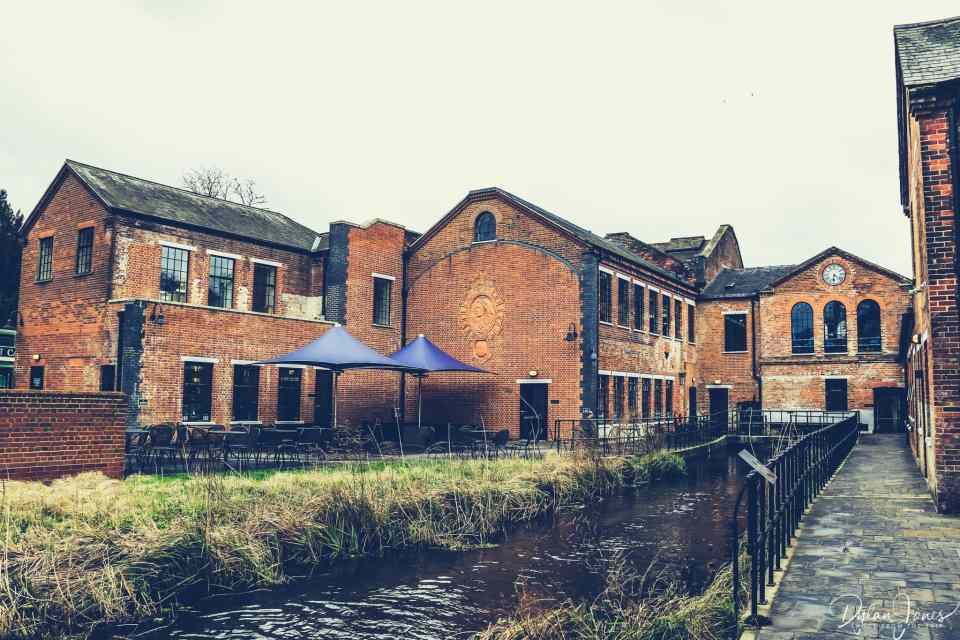Laverstoke Mill and the River Test