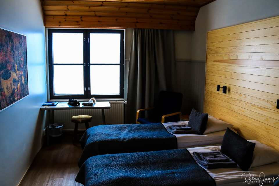 Hotel Niilanpää twin room