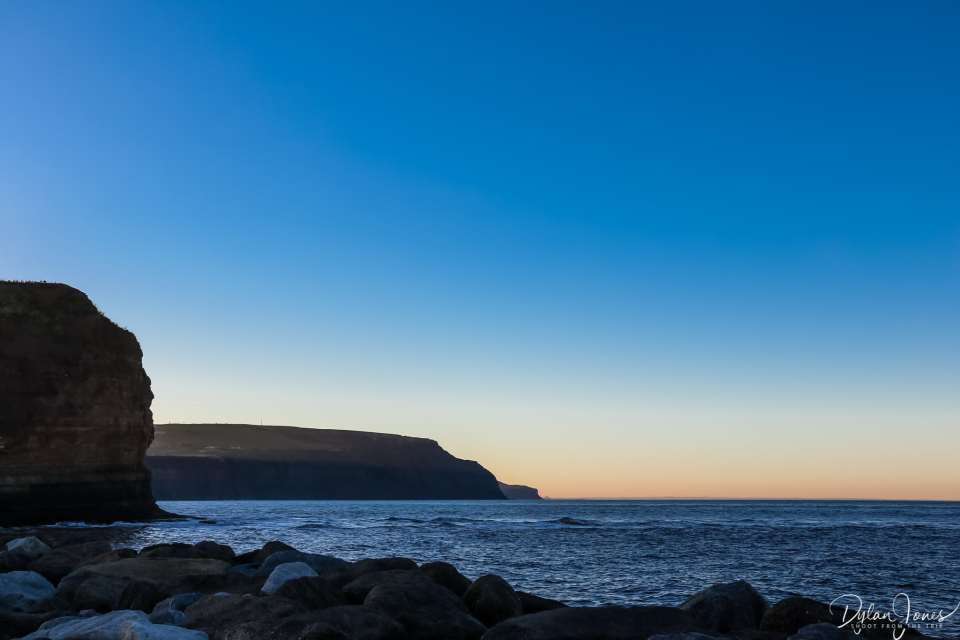 Majestic cliffs of the North Yorkshire Coast