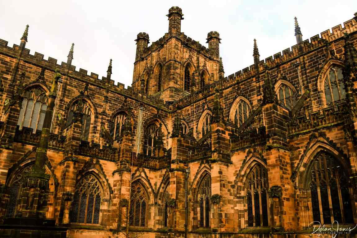 Chester Cathedral exterior photograph