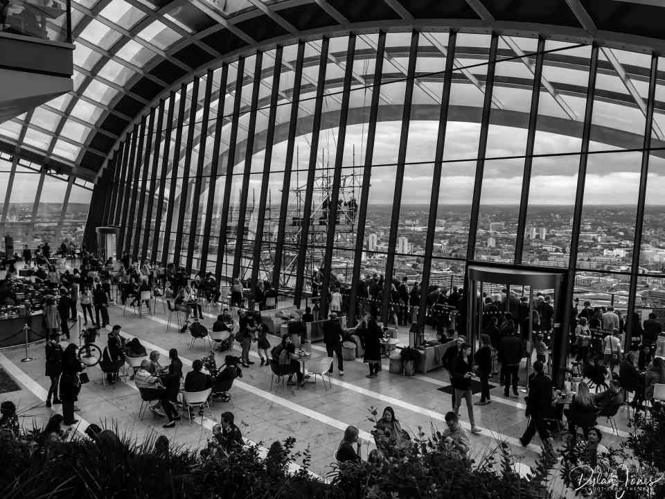 The Sky Garden at 20 Fenchurch Street