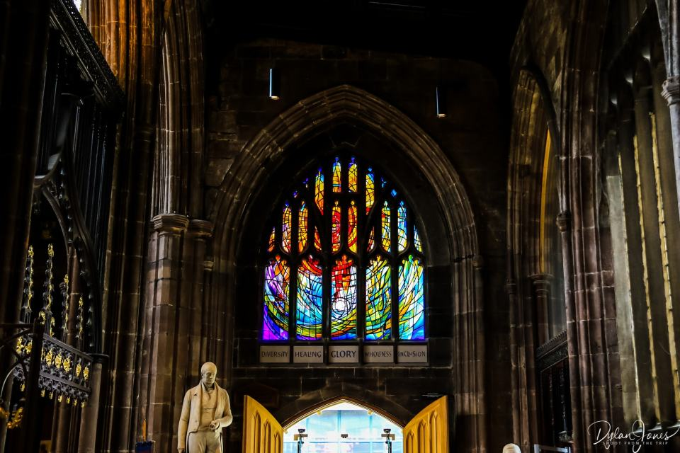 The Healing Window at Manchester Cathedral