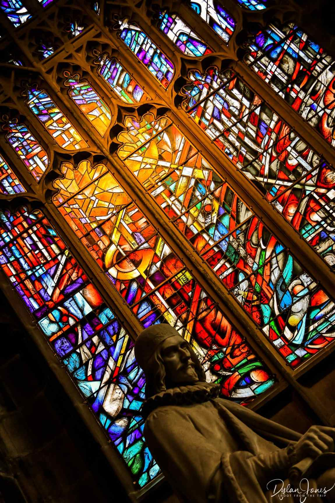 The Hope Window at Manchester Cathedral