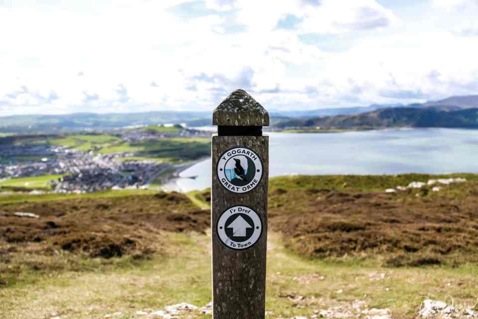 Views from the Great Orme