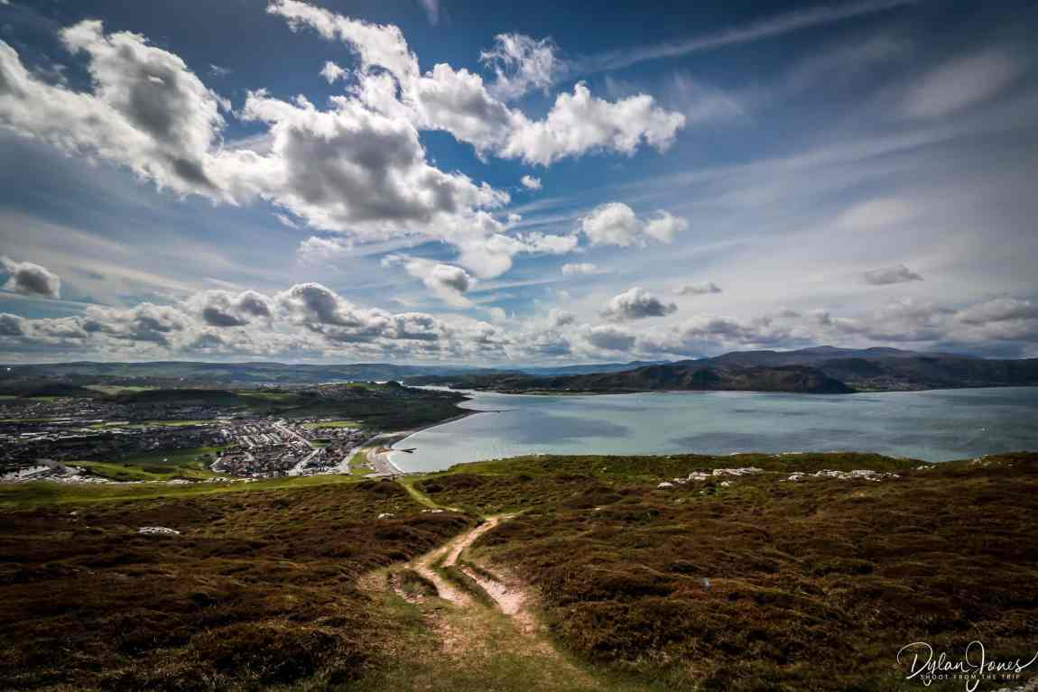 Dramatic views for the Great Orme summit