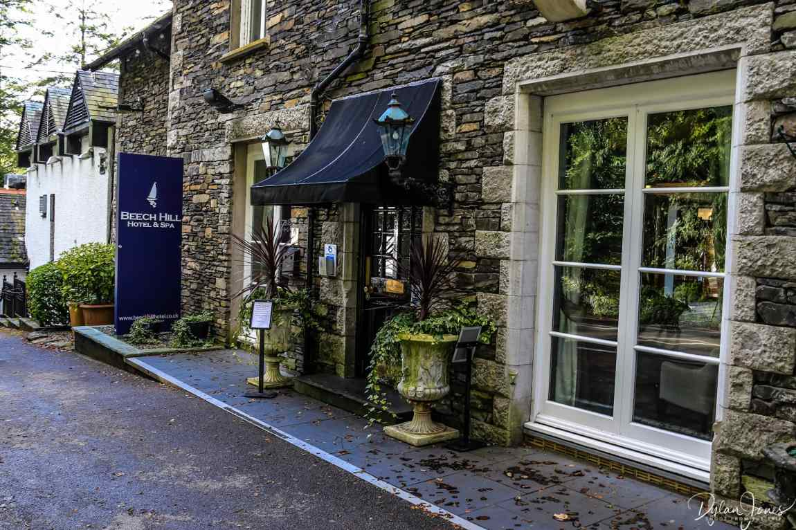Beech Hill Hotel & Spa entrance