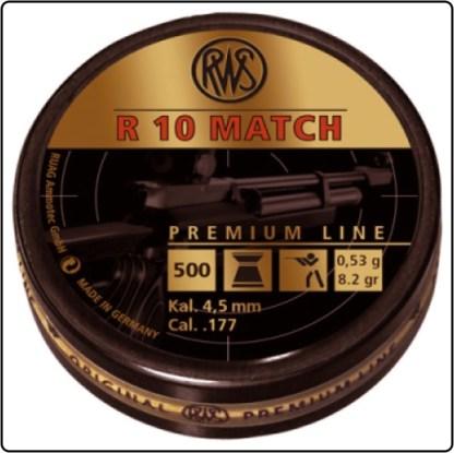 RWS R10 Match Pellets