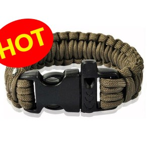 AirForceOne Paracord 550 Bracelet OD Green