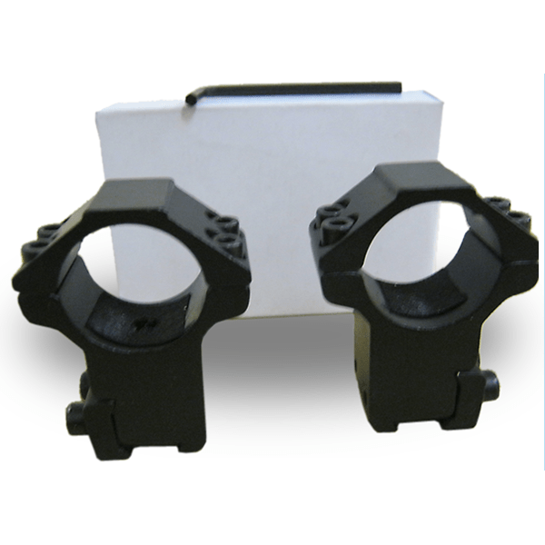 Ultra strong 2-piece, 2-screw High 11mm Rifle scope mount