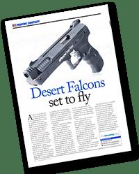 Desert Falcons set to fly