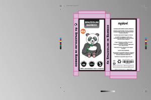 packaging design scatola prodotto fustella