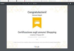 Creazione di ads e campagne di marketing e remarketing su Google Shopping