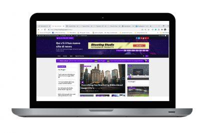 grafico web designer - sito internet per blogger