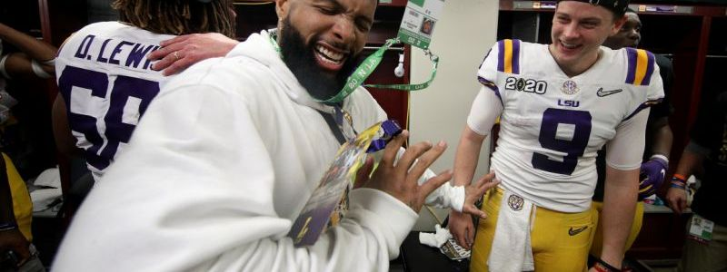LSU will ban Odell Beckham Jr. for Two Years due to NCAA violations