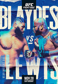 UFC Fight Night Preview: Blaydes will need to be sharpe to beat Lewis