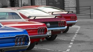 mustang tails