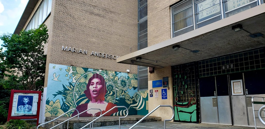 Marian Anderson Recreation Center, Philadelphia, PA.