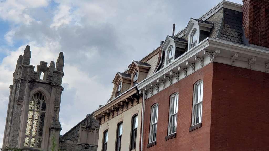 Row home in Rittenhouse Square, Philadelphia.