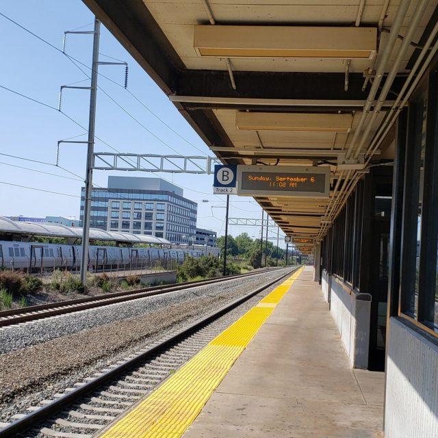 New Carrollton Amtrak Station