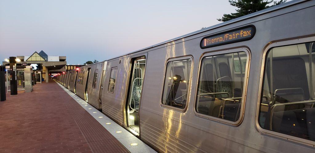 Philadelphia to New Carrollton by Amtrak. New Carrollton to Vienna by DC Metro.