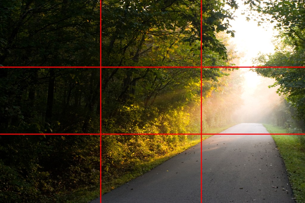 Rule of Thirds.  Wikimedia Commons.