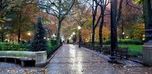 Fall in Rittenhouse Square