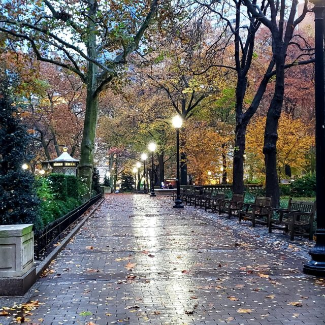 Fall in Rittenhouse Square