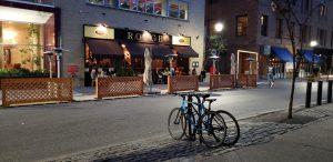 Rouge restaurant in Rittenhouse Square Philadelphia