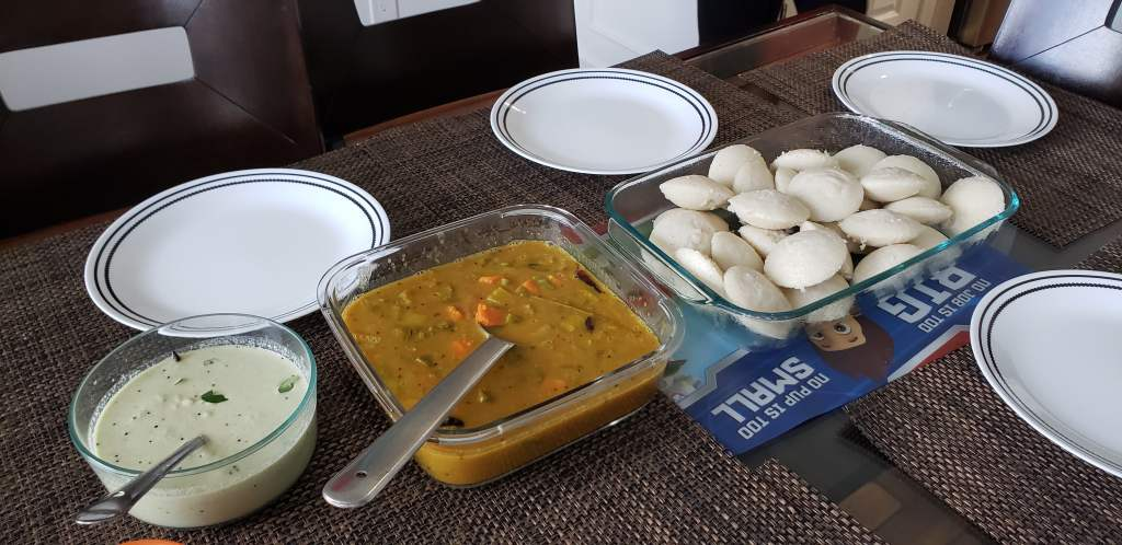South Indian Breakfast. Cooking channels are popular in YouTube.