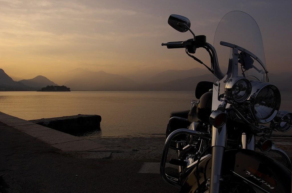 Harley In Italy