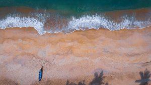 Minimalist beach