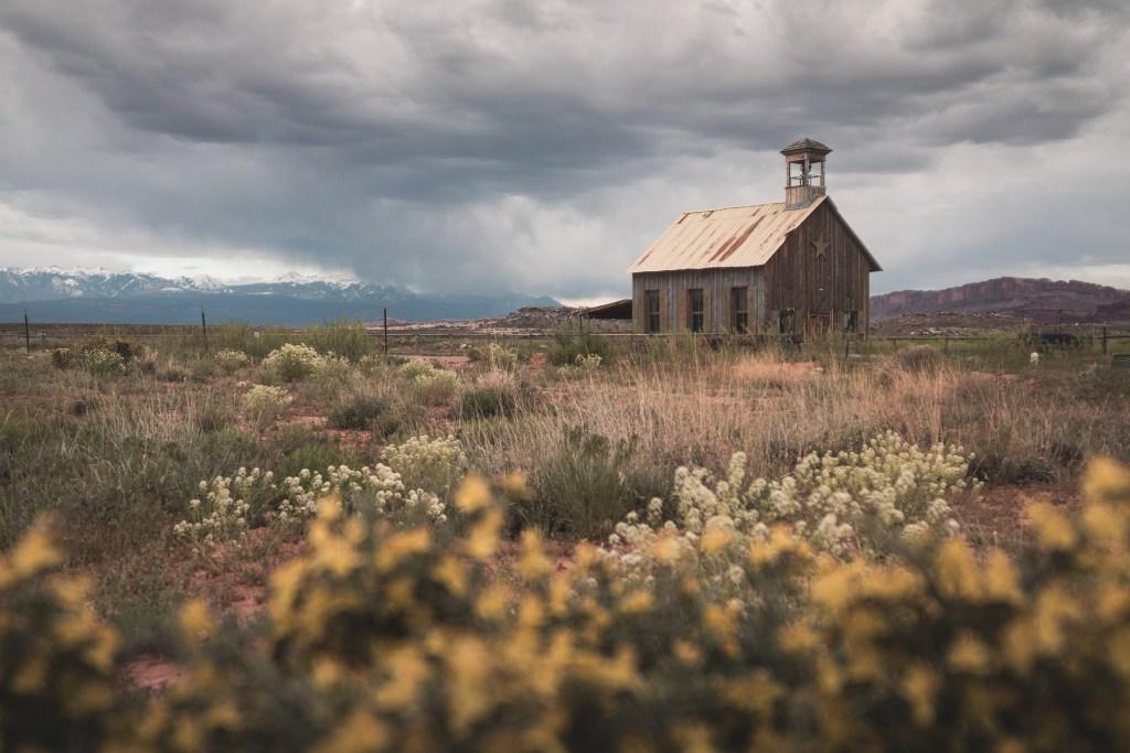 Ranch in Utah desert
