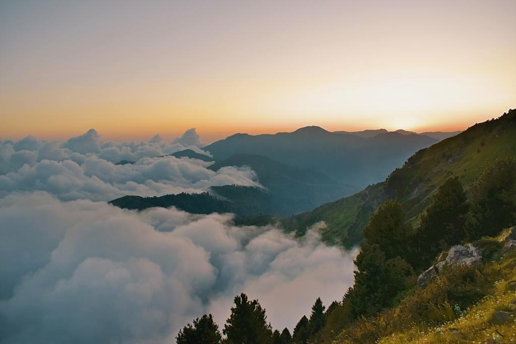 Clouds in Rawalakot