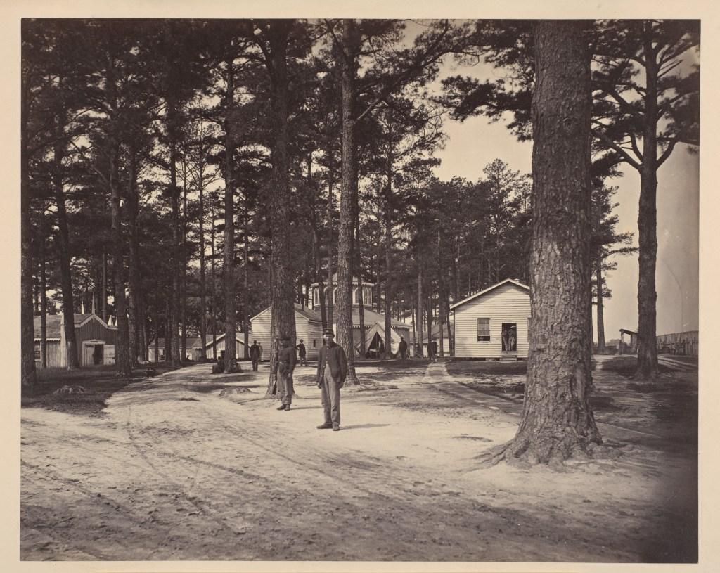 Civil War quarters.