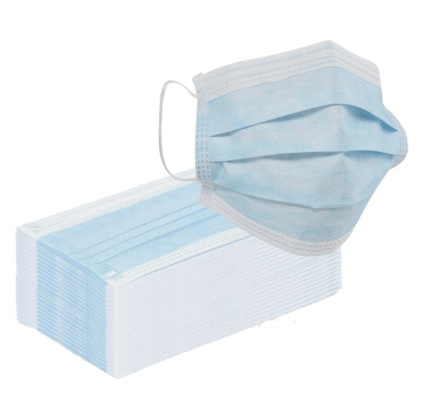 Masque chirurgical non stérile à usage unique