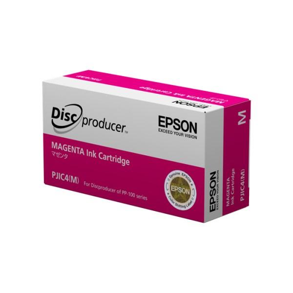 Cartouche d'encre EPSON PJIC4 Magenta pour discproducer PP100